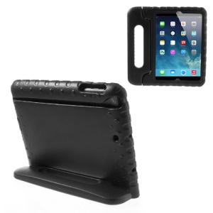 Hand-held Kids EVA Foam Protective Stand Case for iPad Mini 1 2 3 - Black
