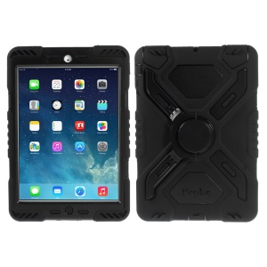 Pepkoo Spider Series Extreme Heavy Duty Case para iPad Mini / iPad Mini 2 - Preto