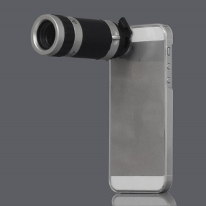 8X Zoom Mobile Phone Telescope Camera Lens for iPhone 5