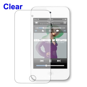 Clear LCD Screen Protector Film for iPod Touch 4