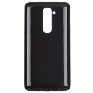 For LG G2 D802 Battery Door Back Housing Cover Replacement OEM - Black