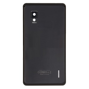 OEM Battery Cover Housing Replacement for LG Optimus G E975 - Black