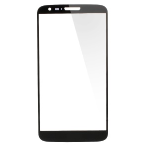 High Quality Front Glass Lens Repair Part for for T-Mobile LG G2 D801 - Black