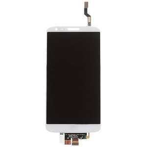 OEM LCD Screen and Touch Screen Digitizer Assembly for for LG G2 D802 - White