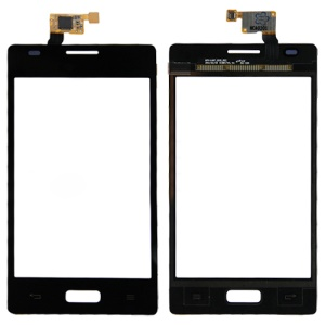 For LG Optimus L5 E610 E612 Black Touch Screen Digitizer Repair Parts