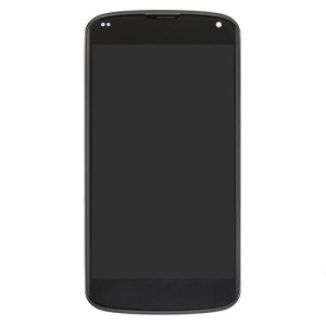 LCD Assembly mit Touchscreen Digitizer für LG Nexus 4 E960 (OEM)