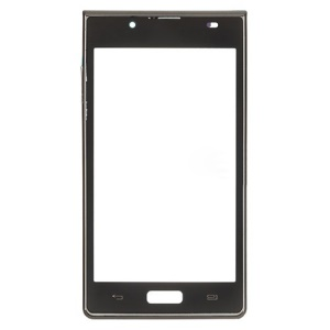 Black OEM Replacement Touch Screen Digitizer with Frame Housing for LG Optimus L7 P700 P705