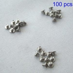 100pcs/set Keyboard Screws for MacBook A1278 A1286 A1297 A1370 A1369 A1398 A1425