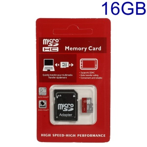 16GB High-Speed-Microsd TF-Speicherkarte Mit SD-Adapter