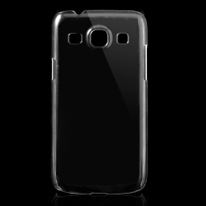 Clear Plastic Crystal Back Case for Samsung Galaxy Core Plus G3500 / Trend 3 G3502