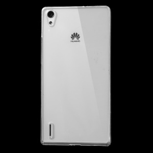 Clear Plastic Crystal Case Shell for Huawei Ascend P7