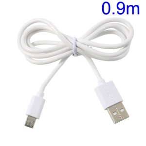 White Golf Micro USB Data Sync Charging Cable for Samsung HTC Sony Nokia LG etc