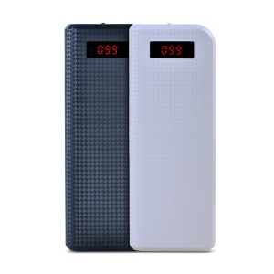 Remax Proda Dual USB Mobile Power Bank 20000mAh for iPad iPhone iPod Samsung Sony HTC Nokia Etc;White