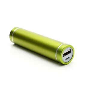 2600mAh Lipstick Power Bank External Battery Charger for iPhone iPod Samsung HTC LG Sony - Green