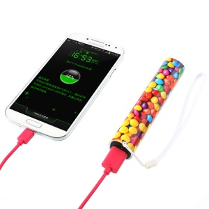 3000mAh Celltu Colorful Candy Beans Energy Stick External Battery Charger for iPhone iPod Samsung Sony