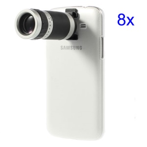 8X Zoom Mobile Phone Telescope Camera Lens w/ Crystal Case for Samsung Galaxy Grand 2 Duos G7102 G7106