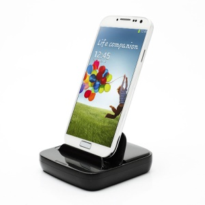 Multi-function Desktop Dock Charger for Samsung Galaxy S4 i9500 / Galaxy S3 i9300 / Galaxy S2 / Galaxy Note II - Black