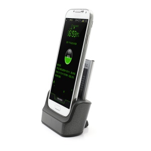 Dual USB Cradle Dock Charger with Battery Slot for Samsung Galaxy S IV S4 i9500 i9502 i9505
