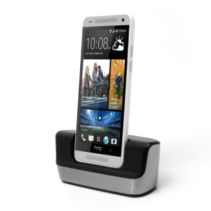 Desktop Charger Cradle Docking Station for HTC One Mini M4, with MicroUSB Cable