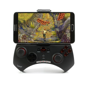 Black IPEGA Bluetooth Gamepad Sem Fio Para Samsung Galaxy Note 3 / Tablet PC Para Smartphones De 5,7 Polegadas