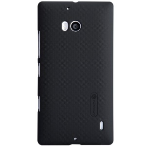 Nillkin for Nokia Lumia 930 929 Super Frosted Shield Plastic Shell w/ Screen Protector - Black