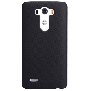 Nillkin Super Frosted Shield Hard Shell for LG G3 D850 D855 LS990 w/ Screen Protector - Black