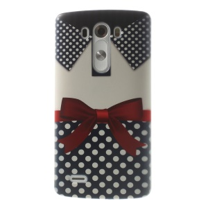 Pretty Shirt with Bowknot PC Hard Shell Case for LG G3 D850 D855 LS990