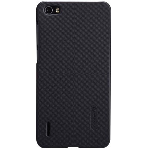 Nillkin Super Frosted Shield Plastic Case for Huawei Honor 6 w/ Screen Protector - Black