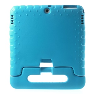 Handle Stand Soft EVA Foam Kids Tablet Case for Samsung Galaxy Tab 4 10.1 T530 T531 T535 - Blue