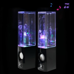 Innovative Water Dancing Speaker for iPhone iPad iPod Mac PC MP3 MP4 - Black