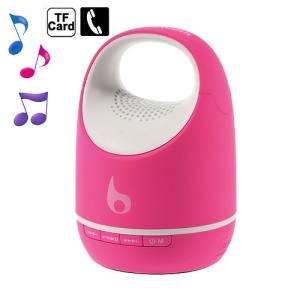 S05C Fashion Outdoor Bluetooth Speaker, support TF Card / Handsfree Calling / AUX - Rose