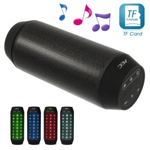 Black AEC BQ-615 Sports Multi-function Bluetooth Speaker with MIC Support FM / TF Card / AUX-input