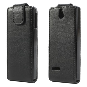 Vertical PU Leather Flip Cover for Nokia 515