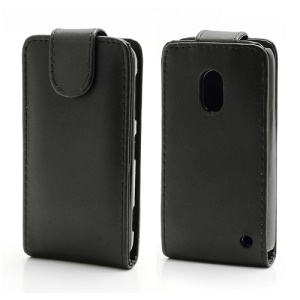 Magnetic Vertical Flip PU Leather Case for Nokia Lumia 620