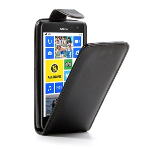 For Nokia Lumia 625 Magnetic Vertical Flip Leather Case