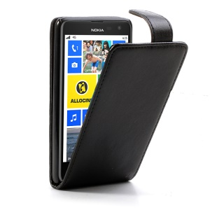 Glossy Vertical Flip Leather Case Cover for Nokia Lumia 625