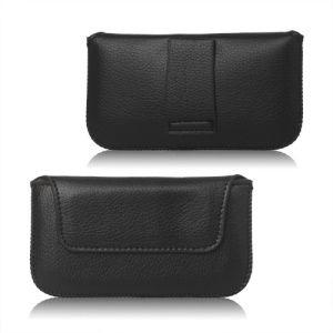 Simple Leather Pouch Case for Blackberry Curve 9220/9320/Samsung S6102/S5360/Nokia 710/610/300/303