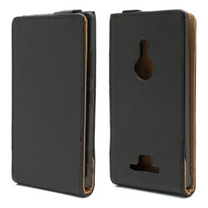 Vertical Magnetic Flip Leather Case Cover For Nokia Lumia 925