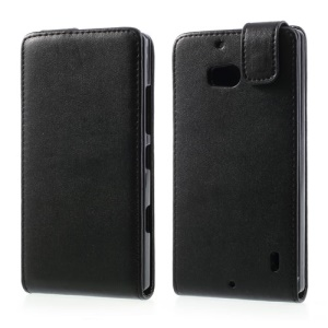 Vertical Leather Magnetic Case for Nokia Lumia 929 930