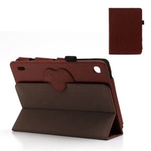 Acer Iconia Tab A1-810 7.9-inch Magnetic Crazy Horse Leather Tri-Fold Stand Case - Brown