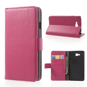 Rose for LG Optimus L9 II D605 Lychee Diary Leather Cover w/ Stand