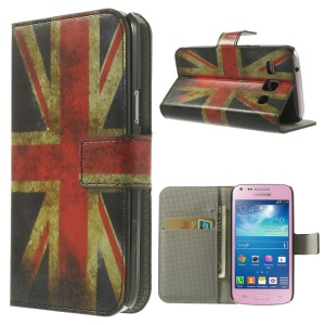 Union Jack Flag Wallet Leather Stand Case for Samsung Galaxy Core Plus G3500 G3502