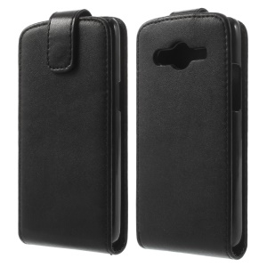 Vertical Leather Flip Case for Samsung Galaxy Core LTE G386F / Avant G386T