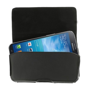 Horizontal Leather Belt Clip Holster for Samsung Galaxy Mega 6.3 I9200 I9208