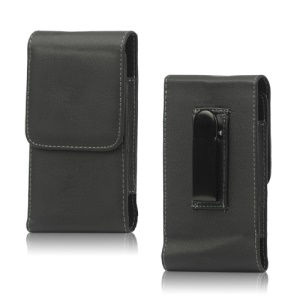 Business Leather Belt Clip Pouch Case for Samsung Galaxy S 4 IV i9500 i9502 i9505