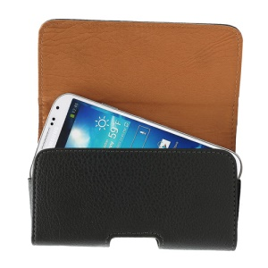 Horizontal Leather Belt Clip Holster Pouch Case for Samsung Galaxy S4 i9500 S3 i9300 For HTC One M7 For LG Optimus F5 P875 For Sony Xperia S LT26i, Size: 13 x 6 x 2cm