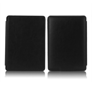 NEW PU Leather Folio Case Skin Cover for Amazon Kindle Paperwhite 3 2 1 - Black