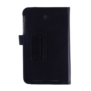 Black Litchi Texture Smart Leather Case w/ Stand for Asus MeMO Pad 7 ME176C