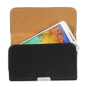 Horizontal Thick Leather Holster for Samsung Galaxy Note 3 N9005 w/ Belt Clip