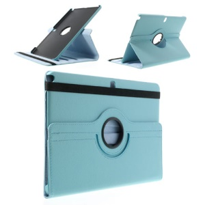 Baby Blue 360 Rotary Lychee Leather Stand Cover for Samsung Galaxy Note Pro 12.2 P900 / Tab Pro 12.2 T900